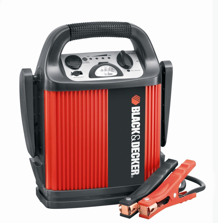 Black&Decker BDV 012 - Портативное пуско-зарядное устройство Возможность подключения 12 В Сила тока зарядки.